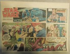 Star Wars Sunday Page by Al Williamson from 3/21/1982 Large Half Page Size!
