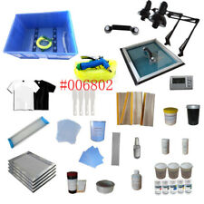 TechTongda T-Shirt Screen Printing Equipments & Materials Kit Newest Unopened