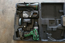 HItachi 12V Battery Powered Drill and Flashlight With Battery/Charger in Case