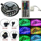 SMD-5050 300-1200 LED Lamps Strip Flexible String Lights Tape Rope +Remote +Plug