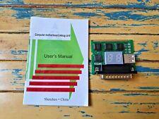 Computer Motherboard Debug Card