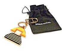 Bijou rare porte clé bijou de sac de Sonia Rykiel idéal pour cadeau