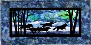 Wildfire Designs Alaska Aurora Nights Thru the Forest Applique Quilt Pattern