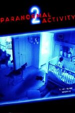 POSTER PLASTIFICATO FOTO LOCANDINA PARANORMAL ACTIVITY 2 3 HORROR THRILLER #3