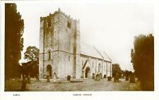 REAL PHOTO POSTCARD OF GARTON CHURCH, NEAR DRIFFIELD, EAST YORKSHIRE, W.H. SMITH