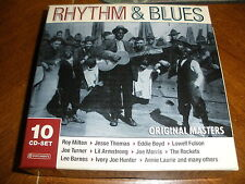 Rhythm & Blues: Original Masters by Various Artists (CD, Jul-2005, Phantom Re...