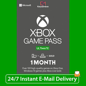 1 Month Xbox LIVE GOLD + Game Pass Ultimate + EA Access | 2 x 14 Day | INSTANT