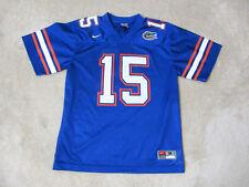 NIKE Tim Tebow Florida Gators Football Jersey Youth Medium Blue Orange College
