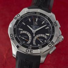 Tag Heuer aquaracer chronograph acero calibre s reloj hombre caf7010 VP: 2000,- €
