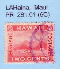 JHL HAWAII 81 w/ PURPLE LAHAINA MAUI CANCEL SCARCITY 6