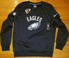 *WOW* NIKE Philadelphia EAGLES Thermafit Crew mens L sweatshirt football pro nfl