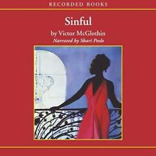 BOOK/AUDIOBOOK CD Victor McGlothin African-American Fiction English Lang. SINFUL