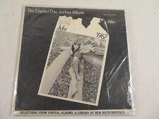 THE CAPITOL DISC JOCKEY ALBUM ~ JULY 1967 VINYL LP ~ PROMO SAMPLERS ~ NM