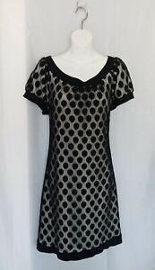 Black Lace Baby Doll Dress Polka Dot Mini Dress En Focus Studio16
