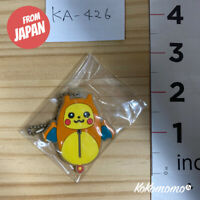 Pokemon Ichiban Kuji Pikachu Charizard Nebukuro Rubber Keychain From Japan