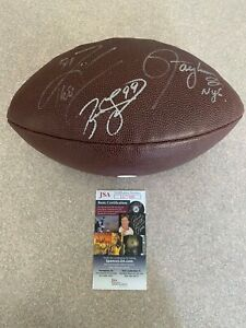 LAWRENCE TAYLOR / JASON TAYLOR / ZACH THOMAS AUTOGRAPH NFL FOOTBALL JSA COA HOF