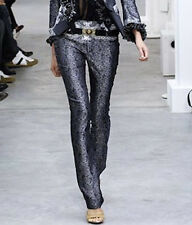 BALENCIAGA PARIS iconic SS06 silk baroque paisley Nicolas Ghesquiere pants 36/4