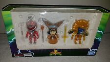 Mighty Morphin Power Rangers Crystal Vinyl Action Figure Set NEW IN BOX