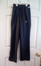 NIKE Dri-Fit Polyester Womens Gray Avenger Warm Up Pants Size XXS Anthracite