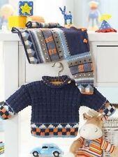 baby boys sweater knitting pattern 99p