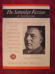 Saturday Review March 5 1938 HERVEY ALLEN ISAK DINESEN CARL CROW