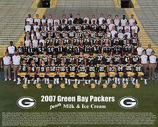 2007 GREEN BAY PACKERS NFL FOOTBALL TEAM 8X10 PHOTO