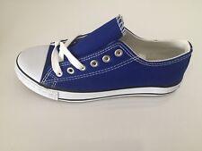Pompe Chaussures Lacets Plat Chaussure Bleu Taille 5 NEUF livraison gratuite