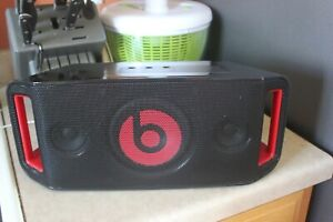 Beats by Dre Beatbox portable speaker with NFC, bluetooth, and 3.5mm input USB