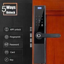 Intelligent Fingerprint Door Lock 5 In 1 Fingerprint/Password/Swipe/Key/APP