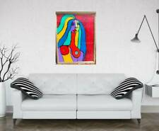 New ListingPicasso Like Nude Painting Original Swartzmiller Dna Signed Pop Art Outsider New