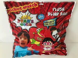 Ryans World Mystery Blind Bag w/Plush. New. Stuffed Animals Toy 14''. Xlarge