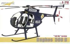 "PROFILINE 7010 Hughes 520D Helicopter ""Tall Ski Version"" in 1:72"