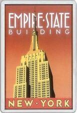 EMPIRE STATE BUILDING - JUMBO FRIDGE MAGNET - AMERICA NEW YORK MANHATTAN