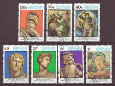 Grenada Grenadines, 500th Anniversary Birth of Michelangelo, CTO 1975