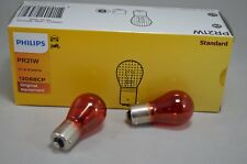 2x Philips PR21W Rote Bremslicht Lampe 12V 21W BAW15s Kugellampe
