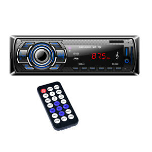 Autoradio Bluetooth Main Libre LCD Compatible avec USB/AUX / MP3 / FLAC/SD