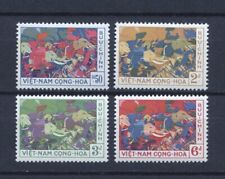 1959 South Vietnam Stamps Trung Sisters on Elephants Sc # 108 - 111  MNH