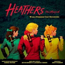 HEATHERS: THE MUSICAL CD - WORLD PREMIERE CAST RECORDING (2014) - NEW UNOPENED