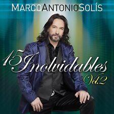 Marco Antonio Solis 15 Inolvidables Vol 2 CD New Nuevo Sealed