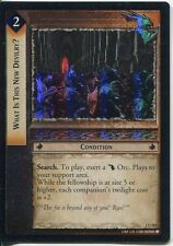 Lord Of The Rings CCG FotR Foil Card 1.U202 What Is This New Devilry