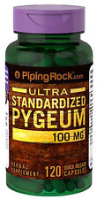 PYGEUM BARK EXTRACT STANDARDIZED PHYTOSTEROLS PROSTATE URINARY 100mg 120 Capsule