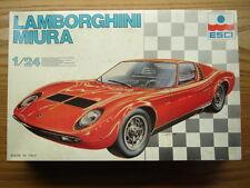 ESCI 1:24 Scale Lamborghini Miura Model Kit New - Rare