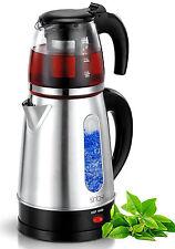 Elektr. Teemaschine Wasserkocher Teamaker Teeautomat Teekocher Caydanlik NEU