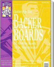 "COMIC DEFENSE SYSTEM GOLDEN AGE COMIC BACKER BOARDS 24PT 7 1/2"" X 10-1/2"" 50 CNT"