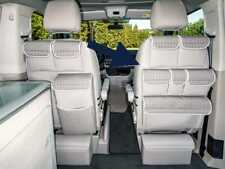 Caravelle T5 Negro Brandrup R//H bolsillos de almacenamiento para asientos de cabina VW T6 California