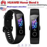"Original New Huawei Honor Band 5 Smart Wristband Amoled Color 0.95"" Touchscreen"