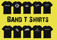 Band T shirt S-2XL