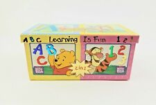 Disney's Winnie The Pooh Flash Cards Learning is Fun 2-in-1 Flashcards Learning