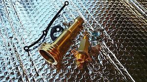 Minibetankung LPG Einfüllstutzen M16 Außengewinde + ACME Adapter, Autogas GPL