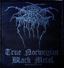 DARK THRONE DARKTHRONE PATCH / AUFNÄHER # 2 TRUE NORWEGIAN BLACK METAL